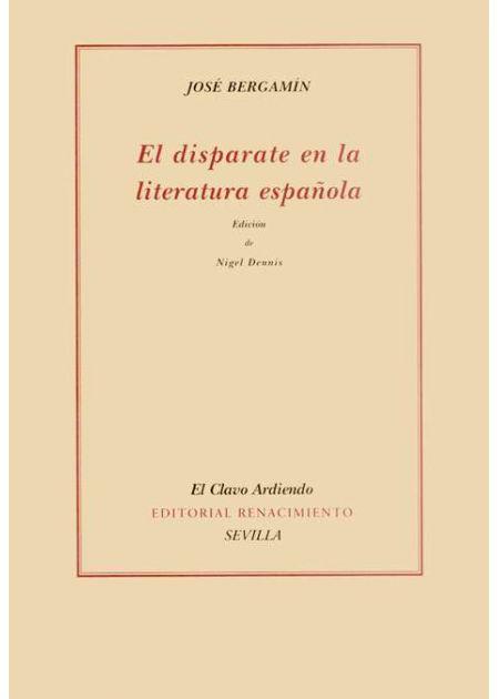 El disparate en la literatura española