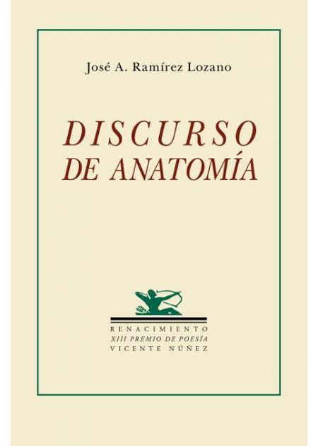 Discurso de anatomía - Editorial Renacimiento