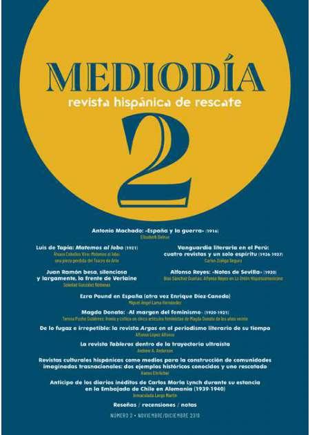Mediodía. Revista hispánica de rescate. 2