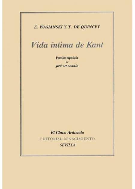 Vida íntima de Kant