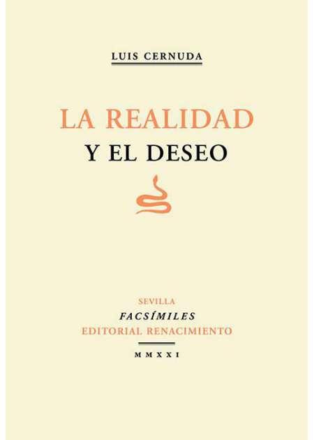 La realidad y el deseo