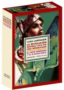 Estuche Clara Campoamor. La revolución española vista por una republicana 6ED + El voto femenino y yo: mi pecado mortal