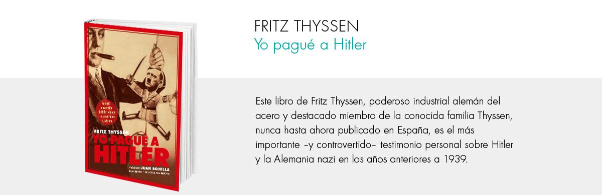Yo pagué a Hitler